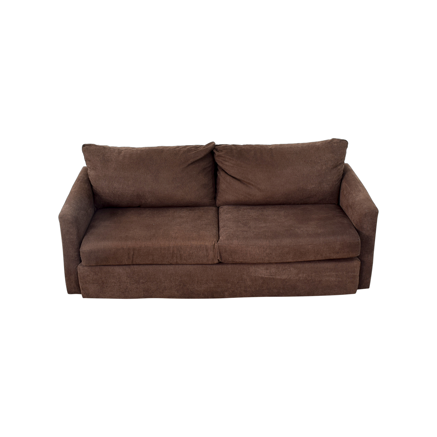 Bob's Furniture Bob's Furniture Brown Loveseat coupon