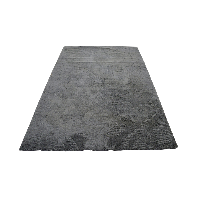 Nuloom Nuloom Scroll Slate Grey Blue Rug