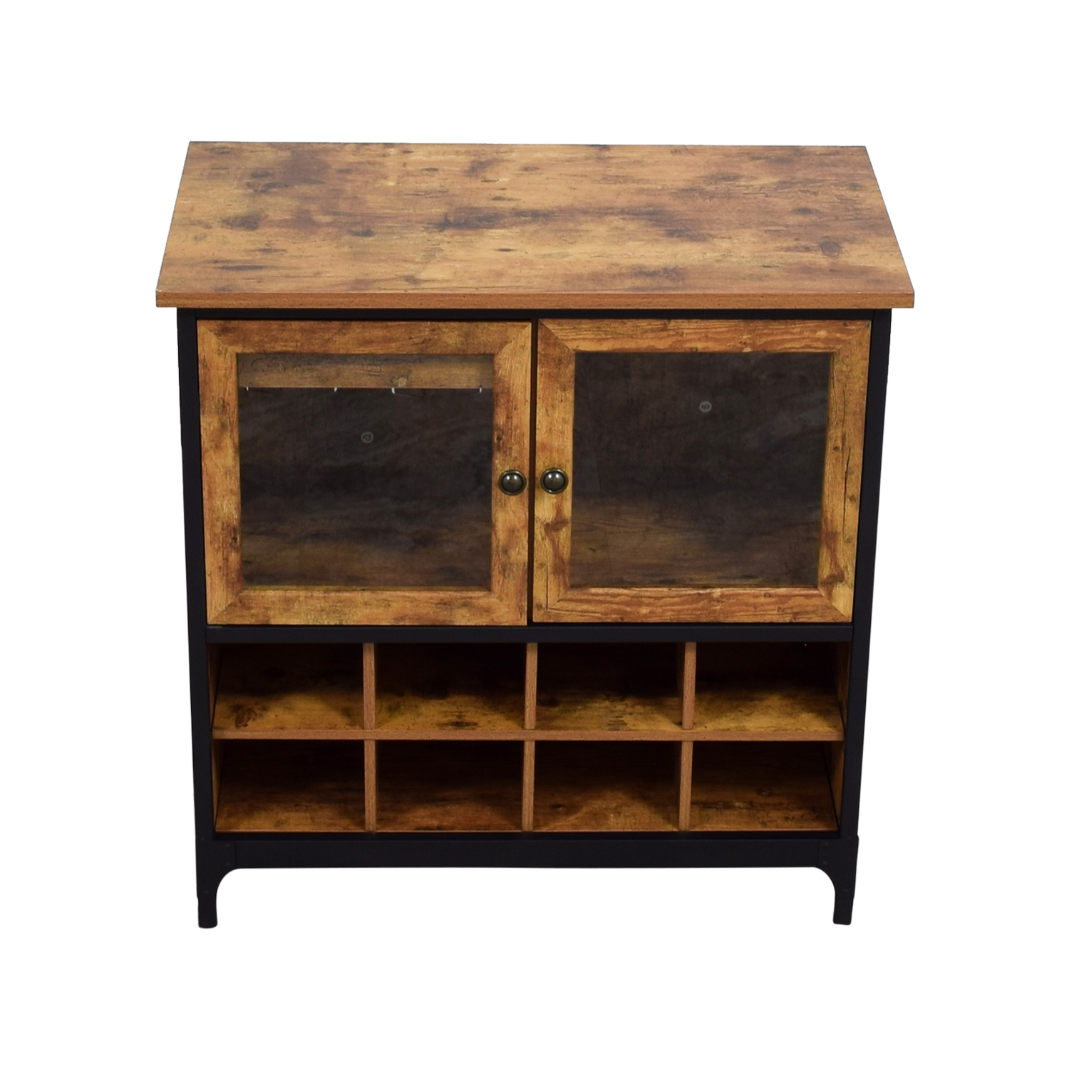 ... Shop Better Home And Gardens Better Home And Gardens Rustic Bar Cabinet  Online ...