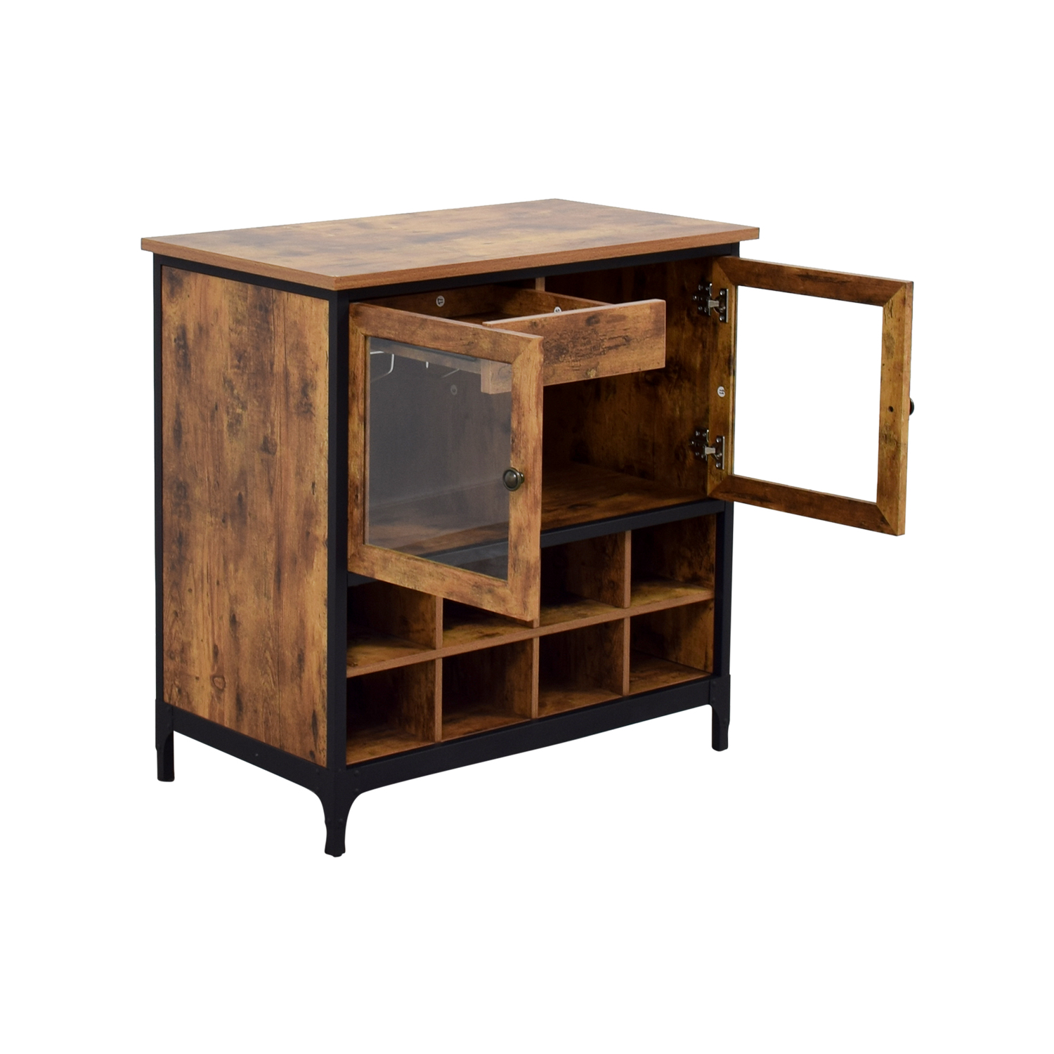 81 off better home and gardens better home and gardens for Rustic home bar furniture