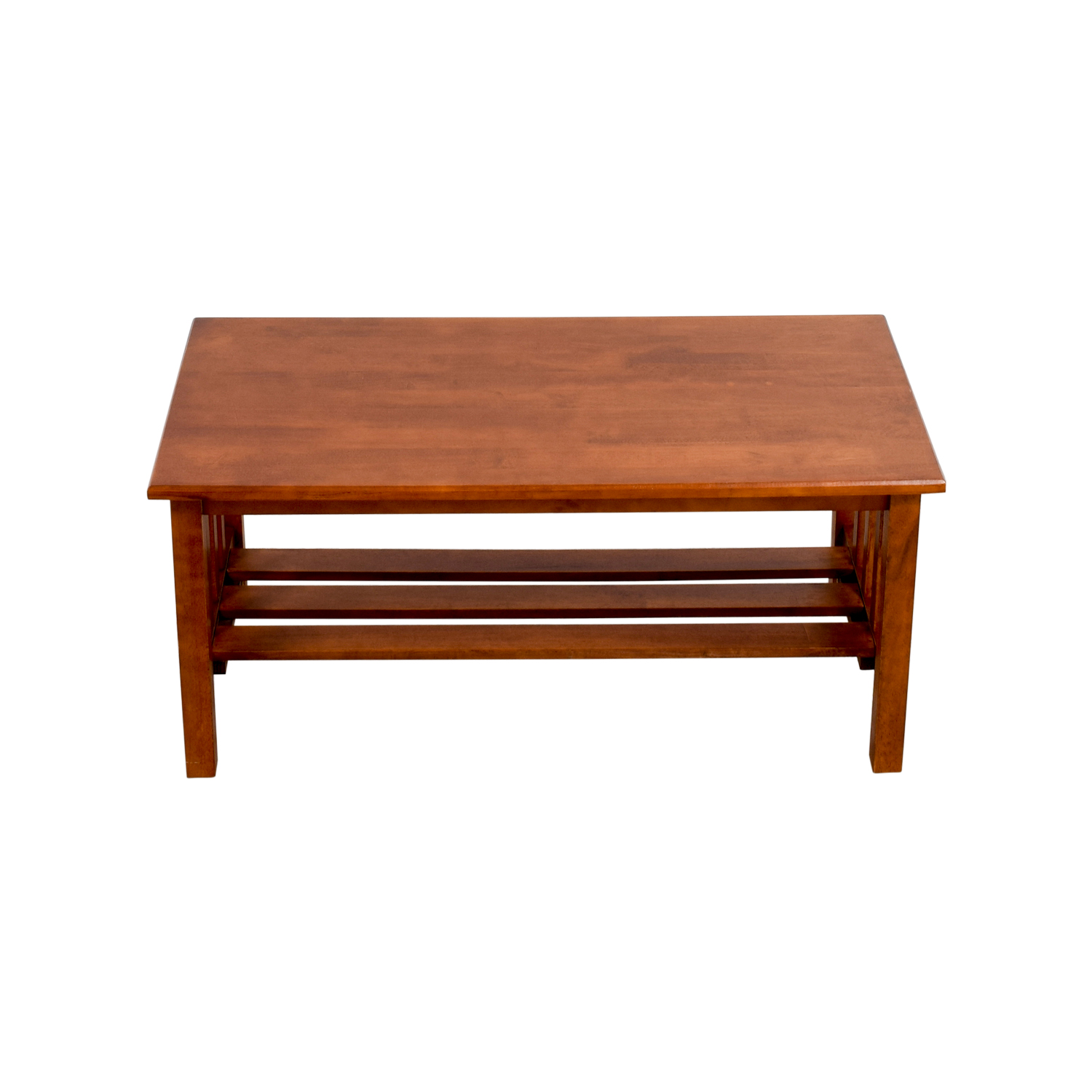Shop Craftman Caged Wood Coffee Table Tables