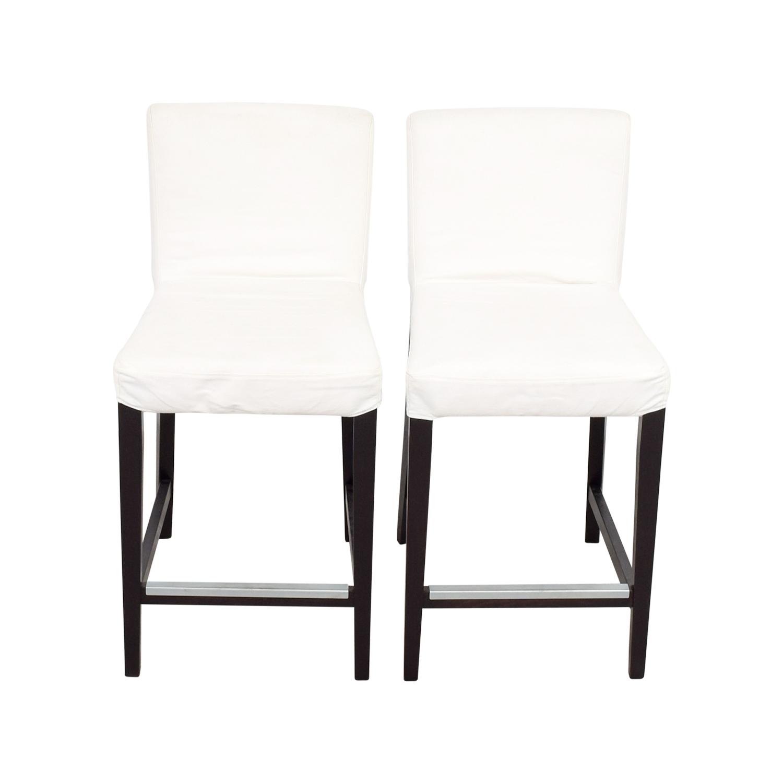 Ikea Off White Rug Canada: IKEA IKEA HENRIKSDAL White Covered Bar Stools
