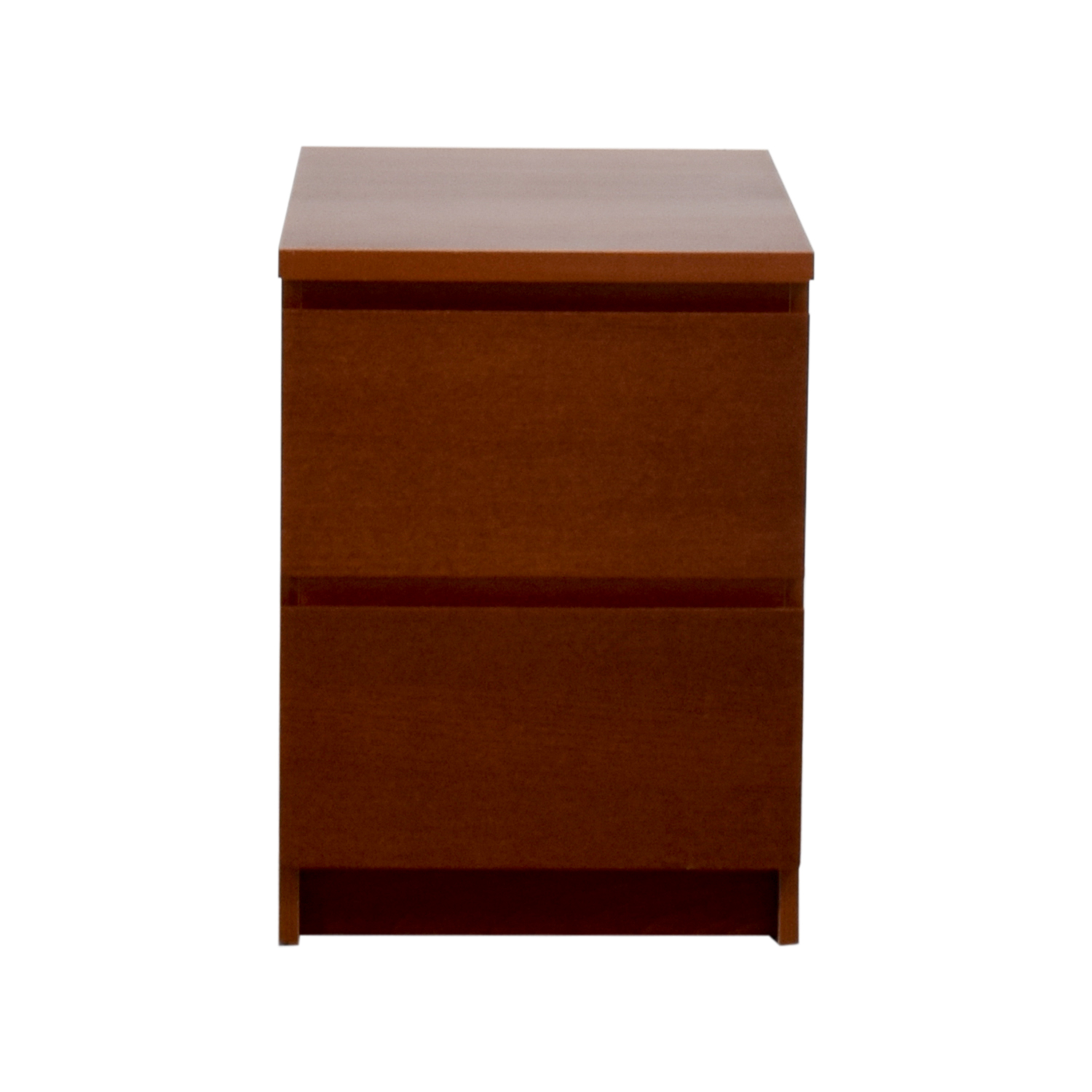 IKEA IKEA Wooden Two-Drawer Nightstand for sale