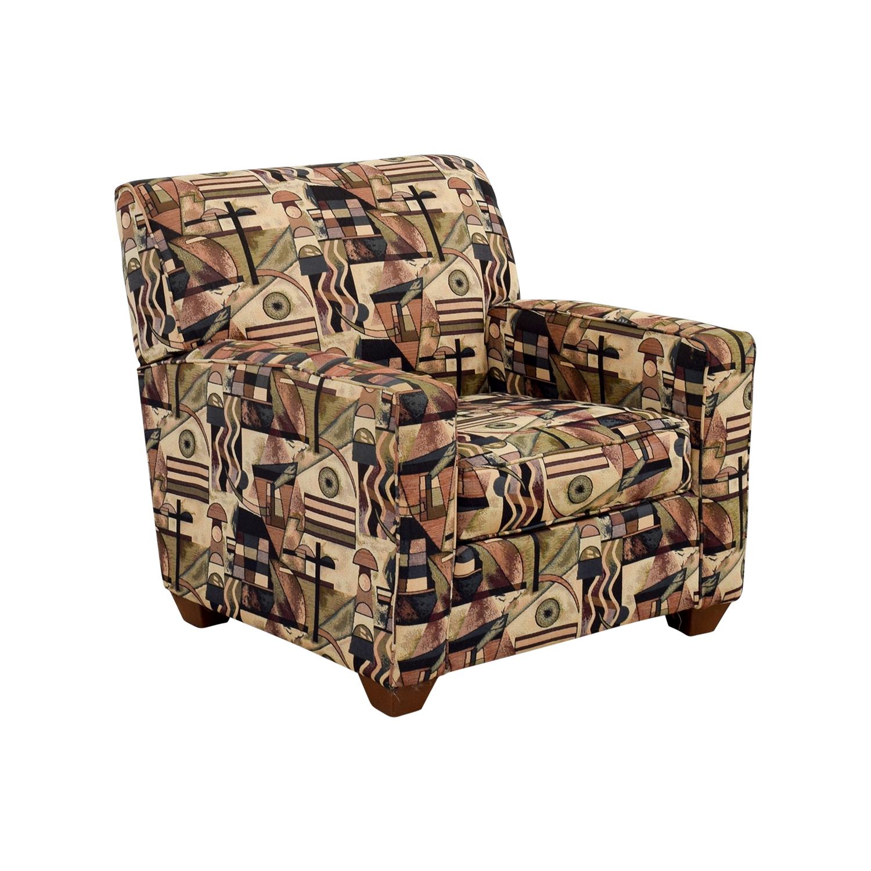 Bauhaus U.S.A Inc Bauhaus USA Inc Geometric Upholstered Armchair second hand