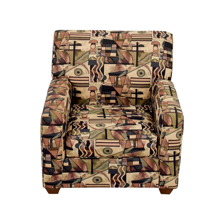 Bauhaus U.S.A Inc Bauhaus USA Inc Geometric Upholstered Armchair discount