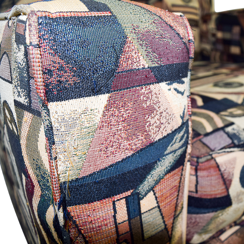 shop Bauhaus USA Inc Geometric Upholstered Armchair Bauhaus U.S.A Inc Chairs