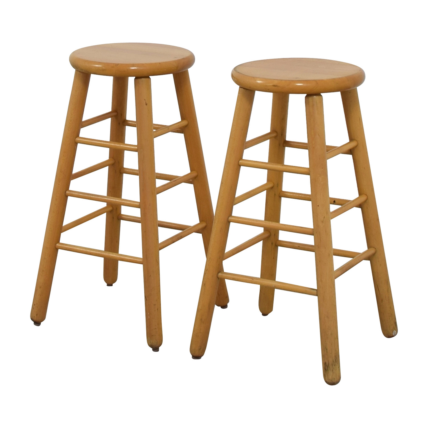 83 off wood bar stools chairs. Black Bedroom Furniture Sets. Home Design Ideas