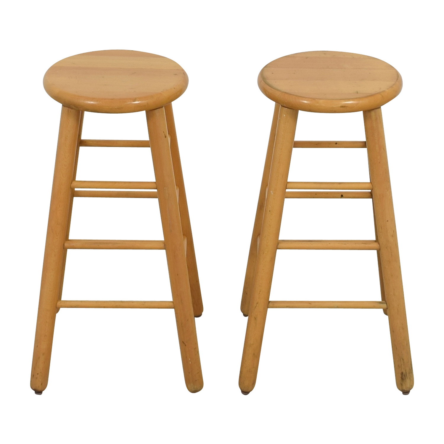 75 OFF Wood Bar Stools Chairs