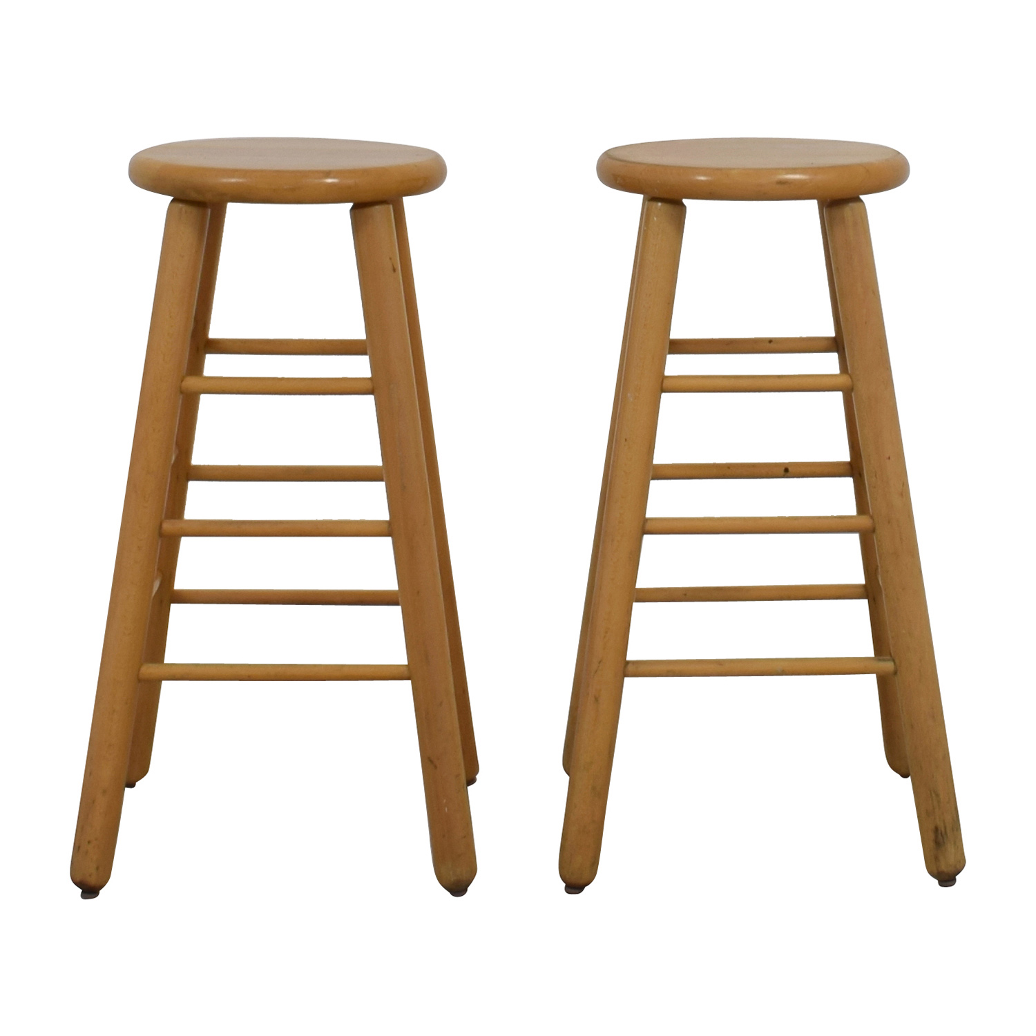 Wood Bar Stools blonde wood