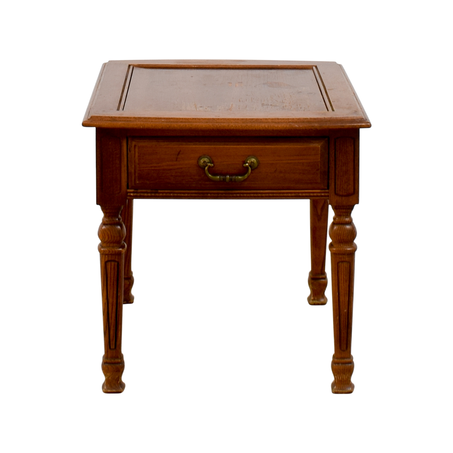 Single Drawer Wood End table / Tables
