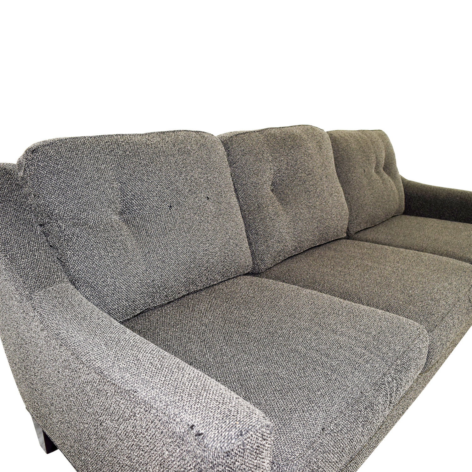 85 Off Cindy Crawford Home Cindy Crawford Home Grey Woven  ~ Cindy Crawford Home Sofa