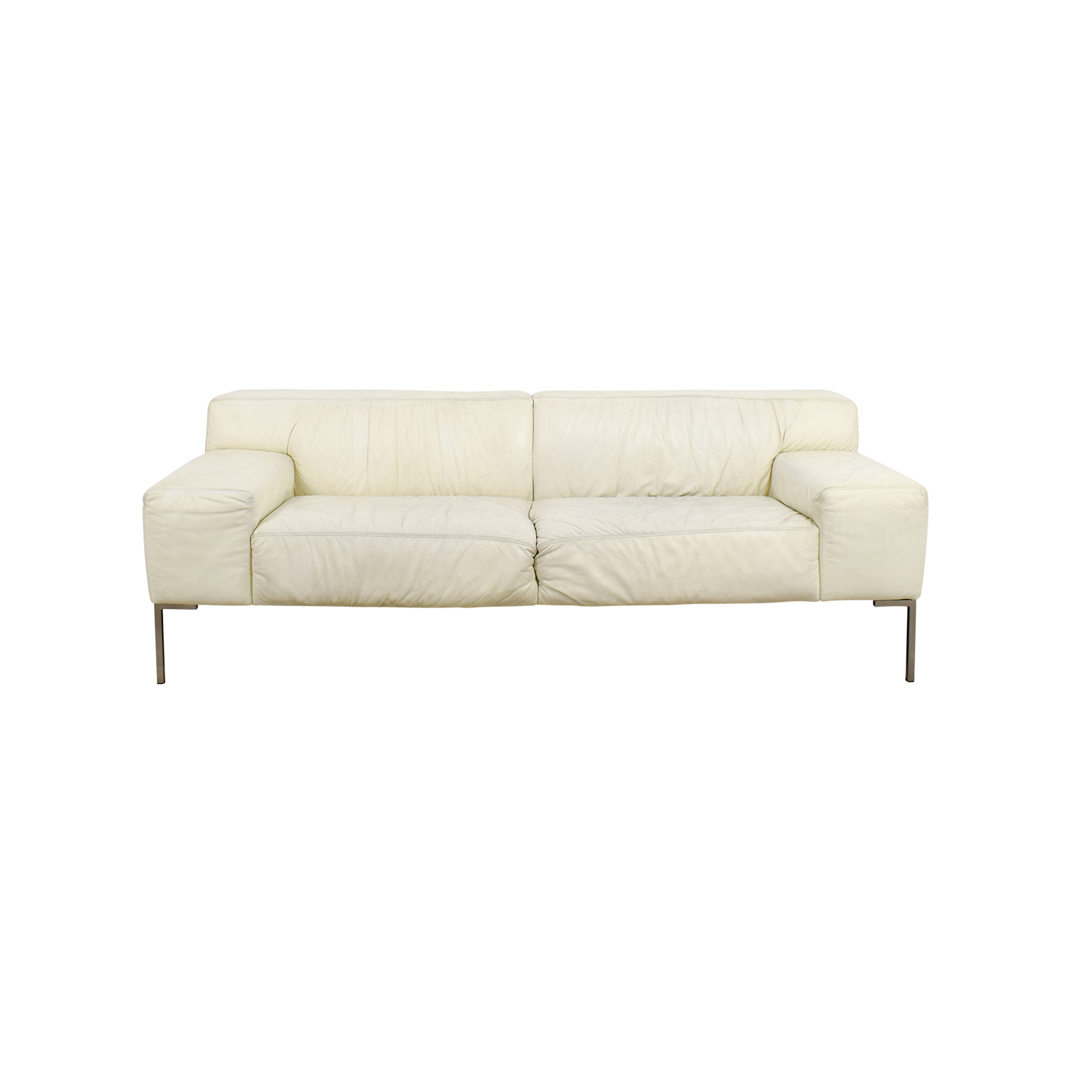 Jensen Lewis American Leather Tuscan White Sofa Price