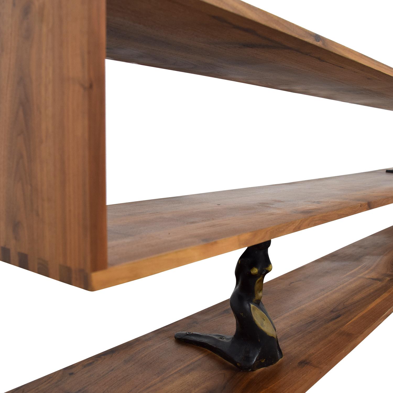 Vienna-A - Shelf/Room Divider Organic Modernism