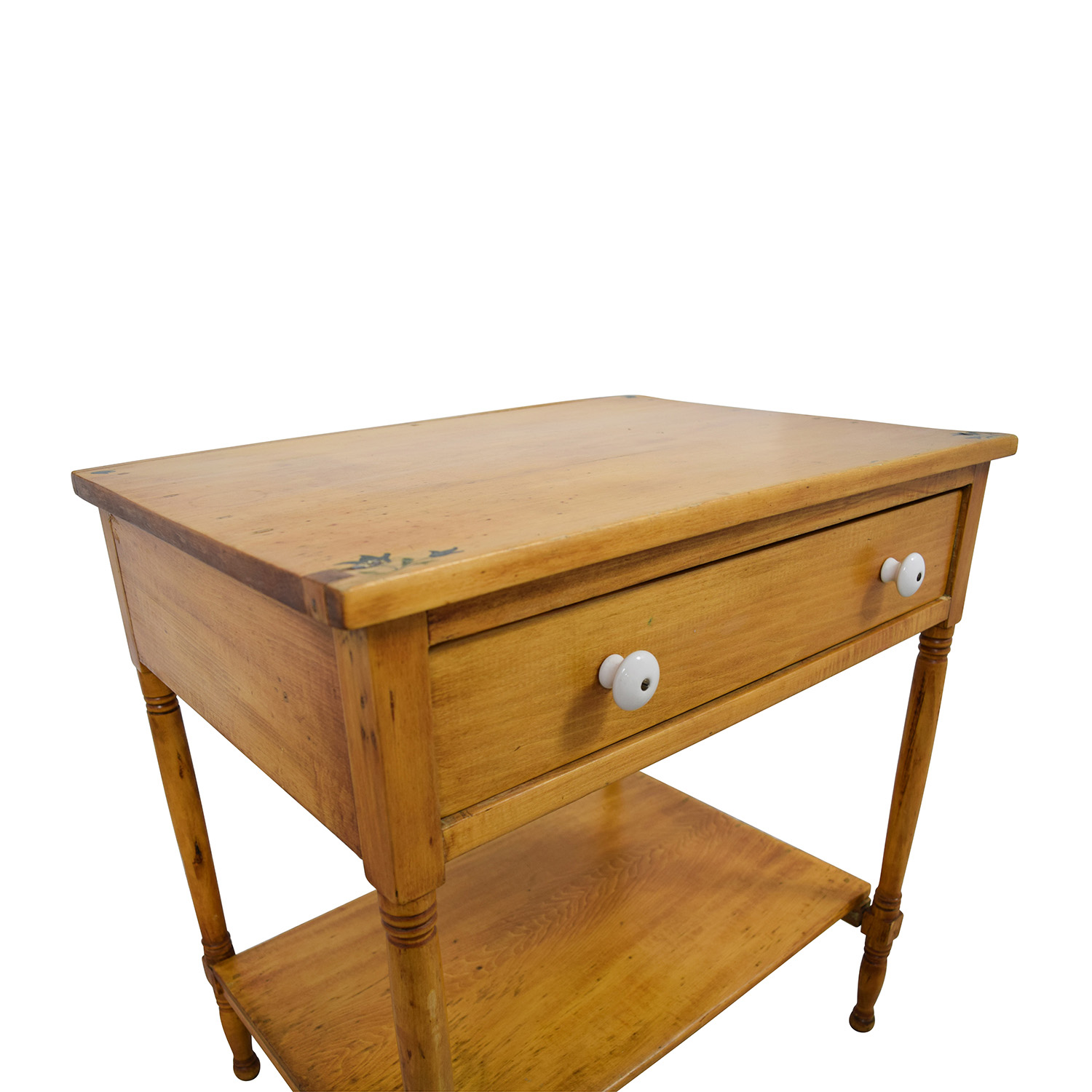 buy One-Drawer and Shelf Night Table