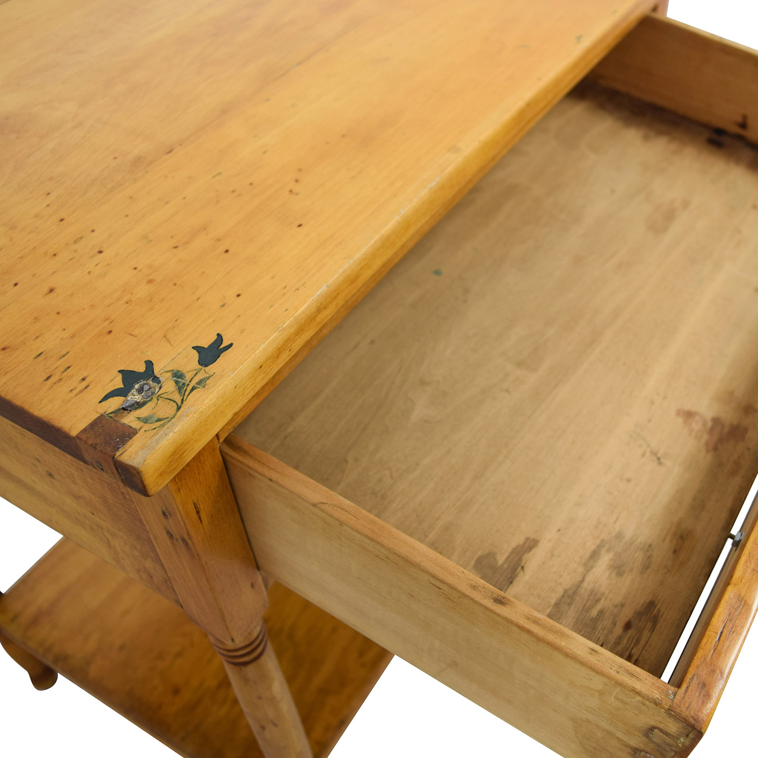 buy One-Drawer and Shelf Night Table online