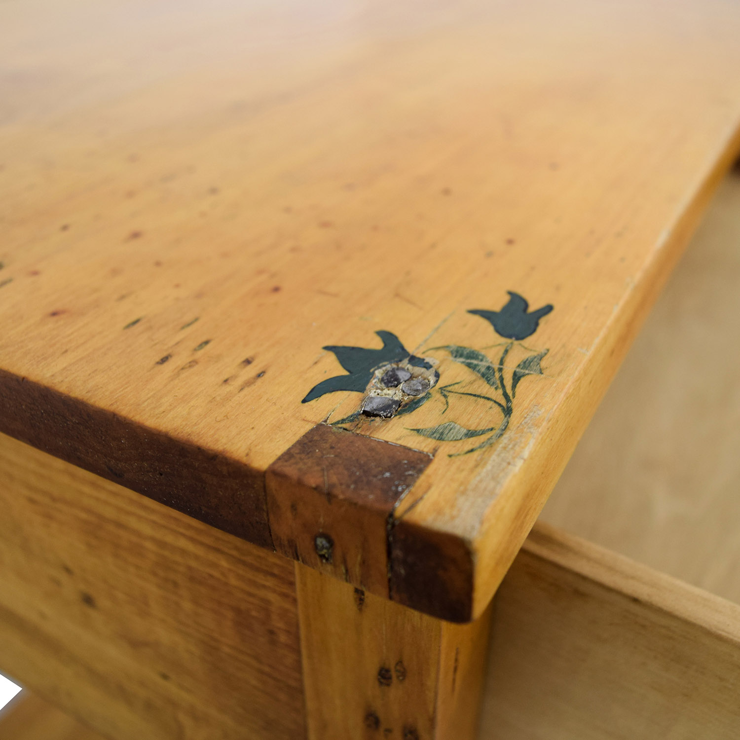 One-Drawer and Shelf Night Table discount