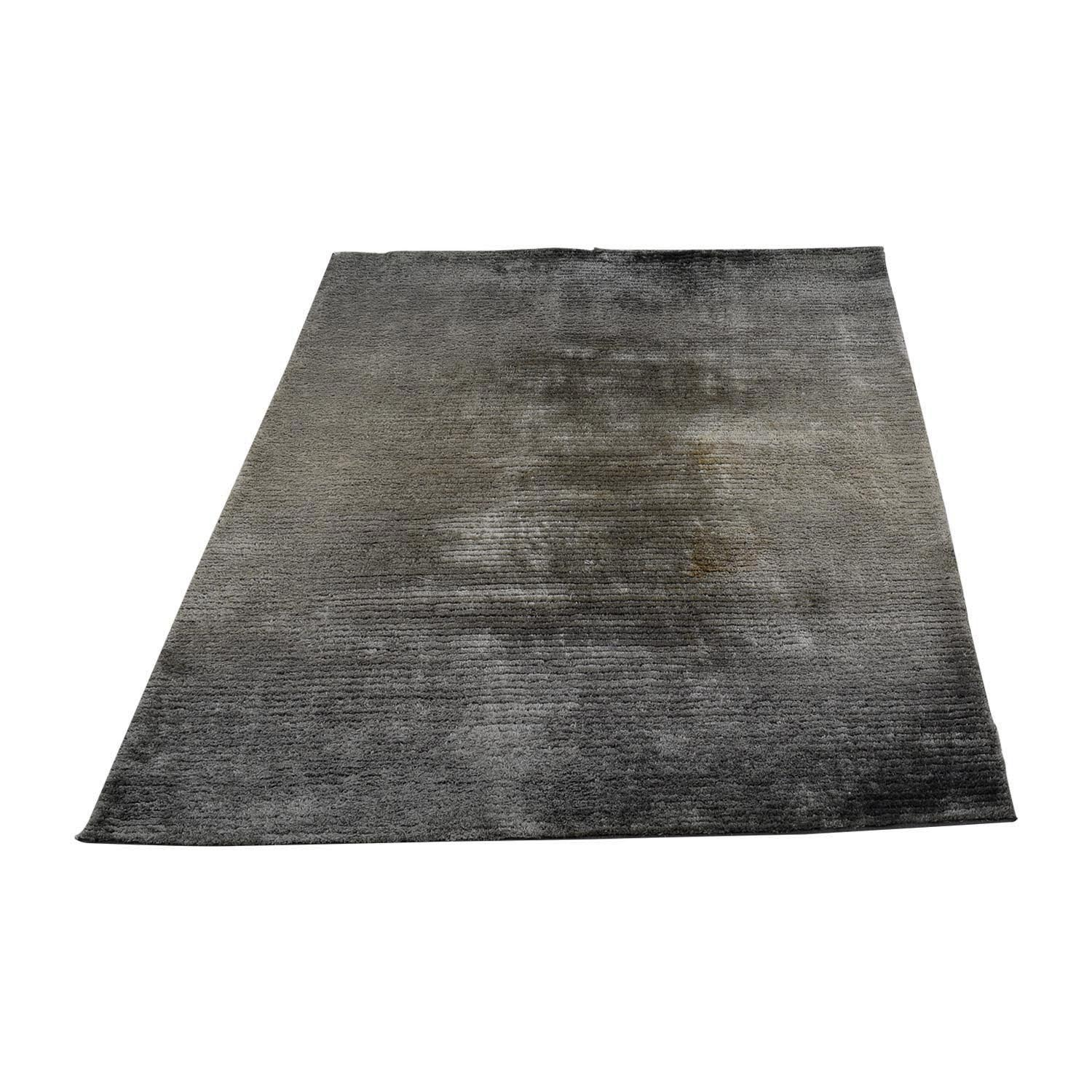 Grey Chenille Rug / Rugs