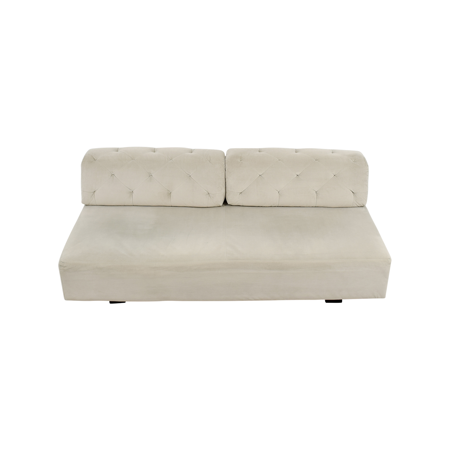 West Elm Tillary Beige Tufted Sofa / Classic Sofas