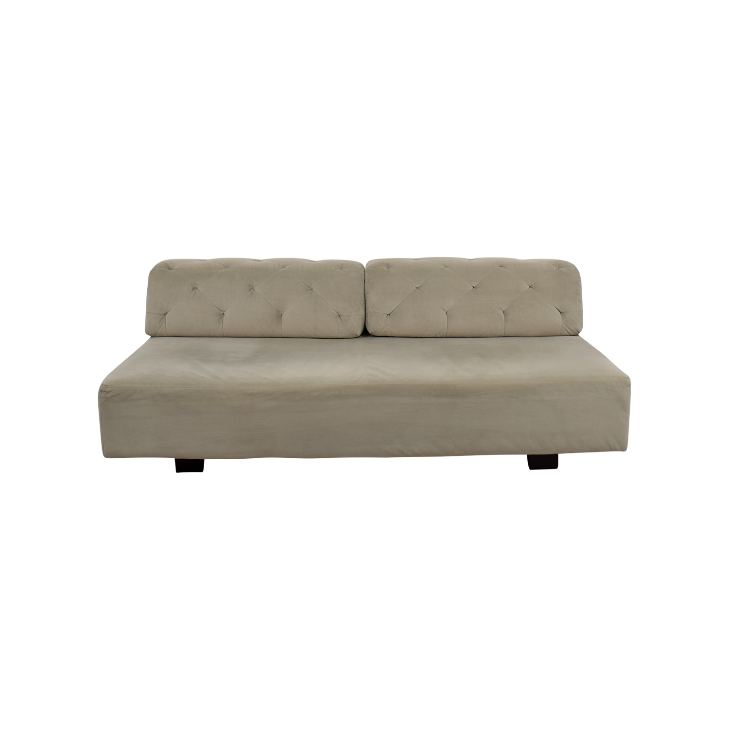 West Elm West Elm Tillary Beige Tufted Sofa nyc