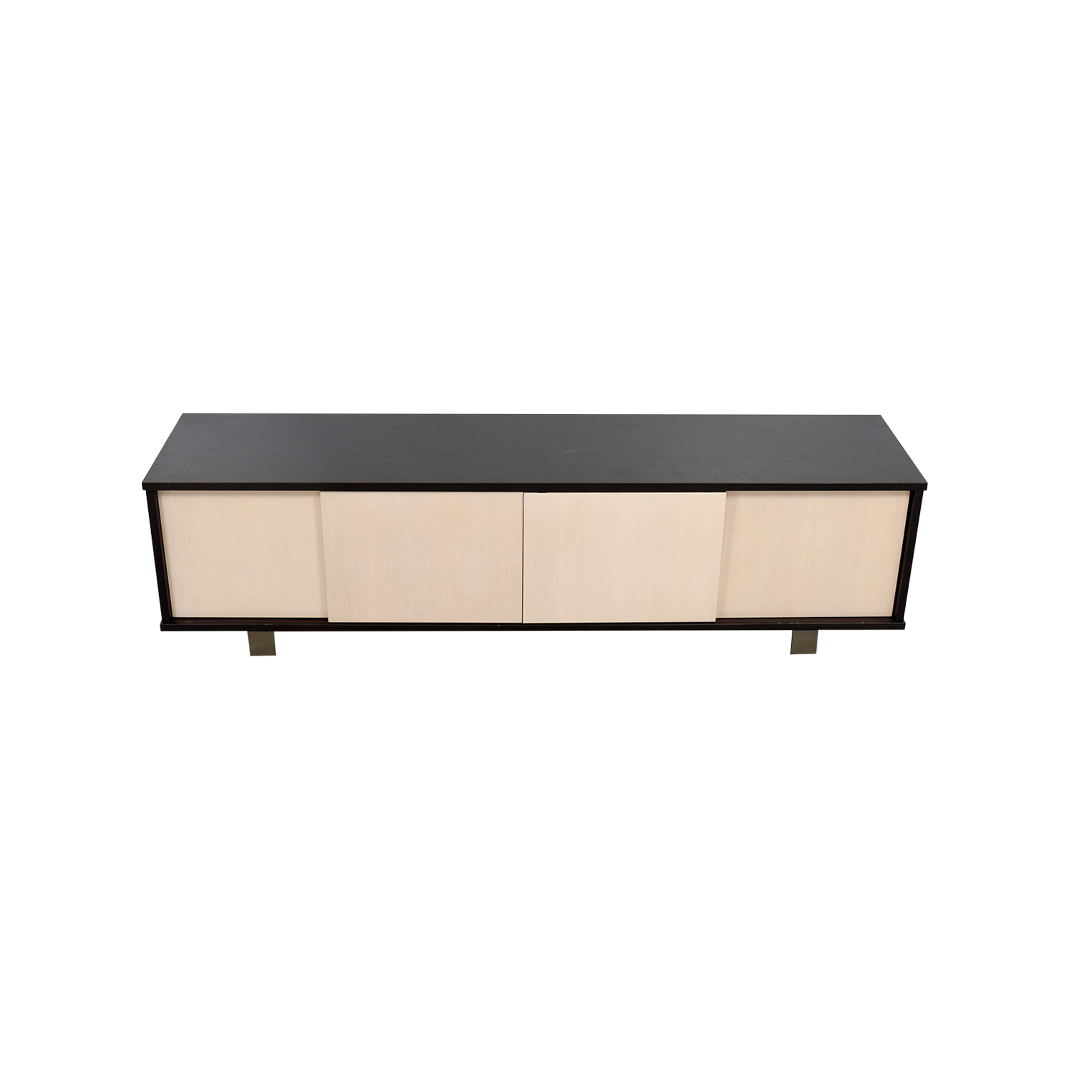 Custom Made Two-Toned Media Credenza used