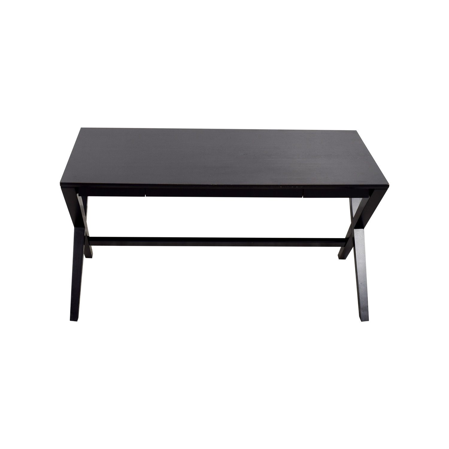 Crate & Barrel Spotlight Ebony Desk sale