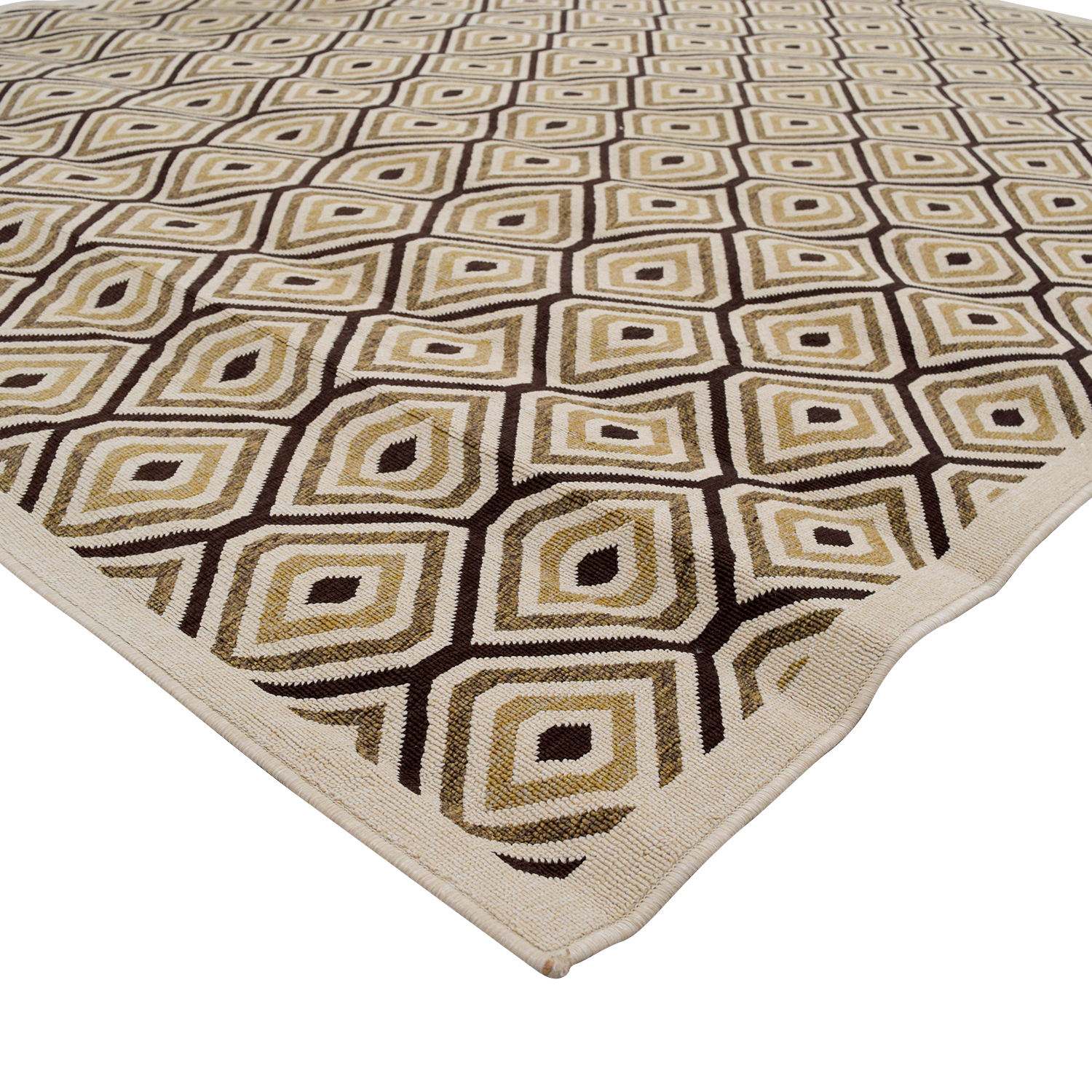 Home Decorators Home Decorators Beige and Brown Pattern Rug for sale