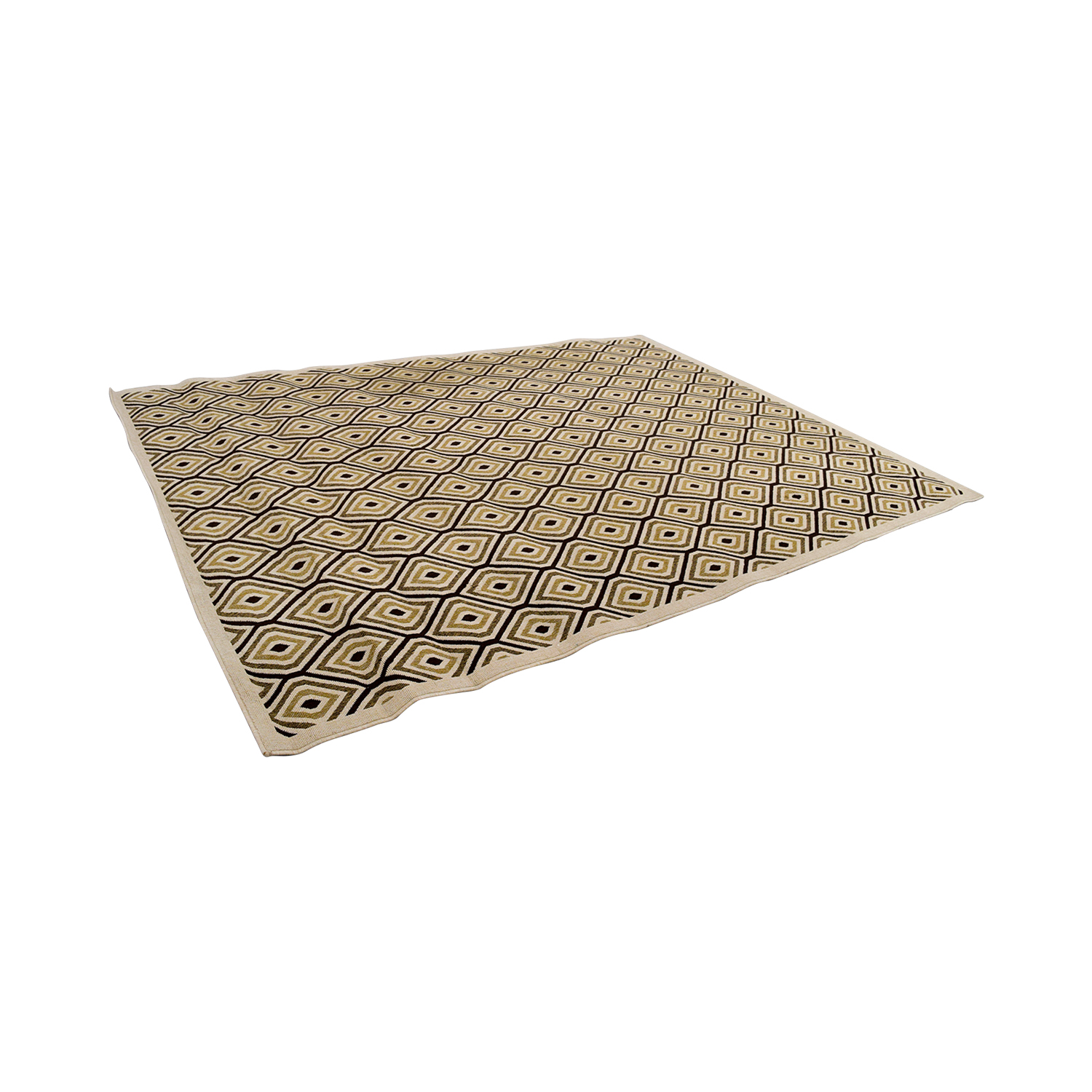 Home Decorators Home Decorators Beige and Brown Pattern Rug tan
