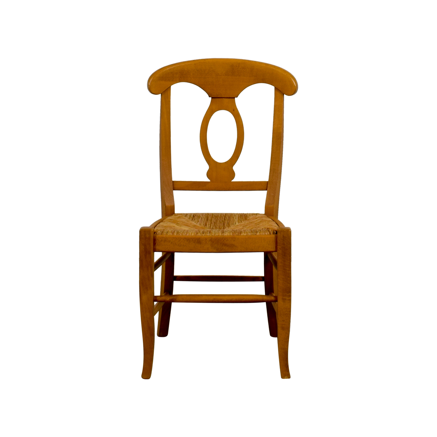 Pottery Barn Pottery Barn Wooden Straw Desk Chair coupon