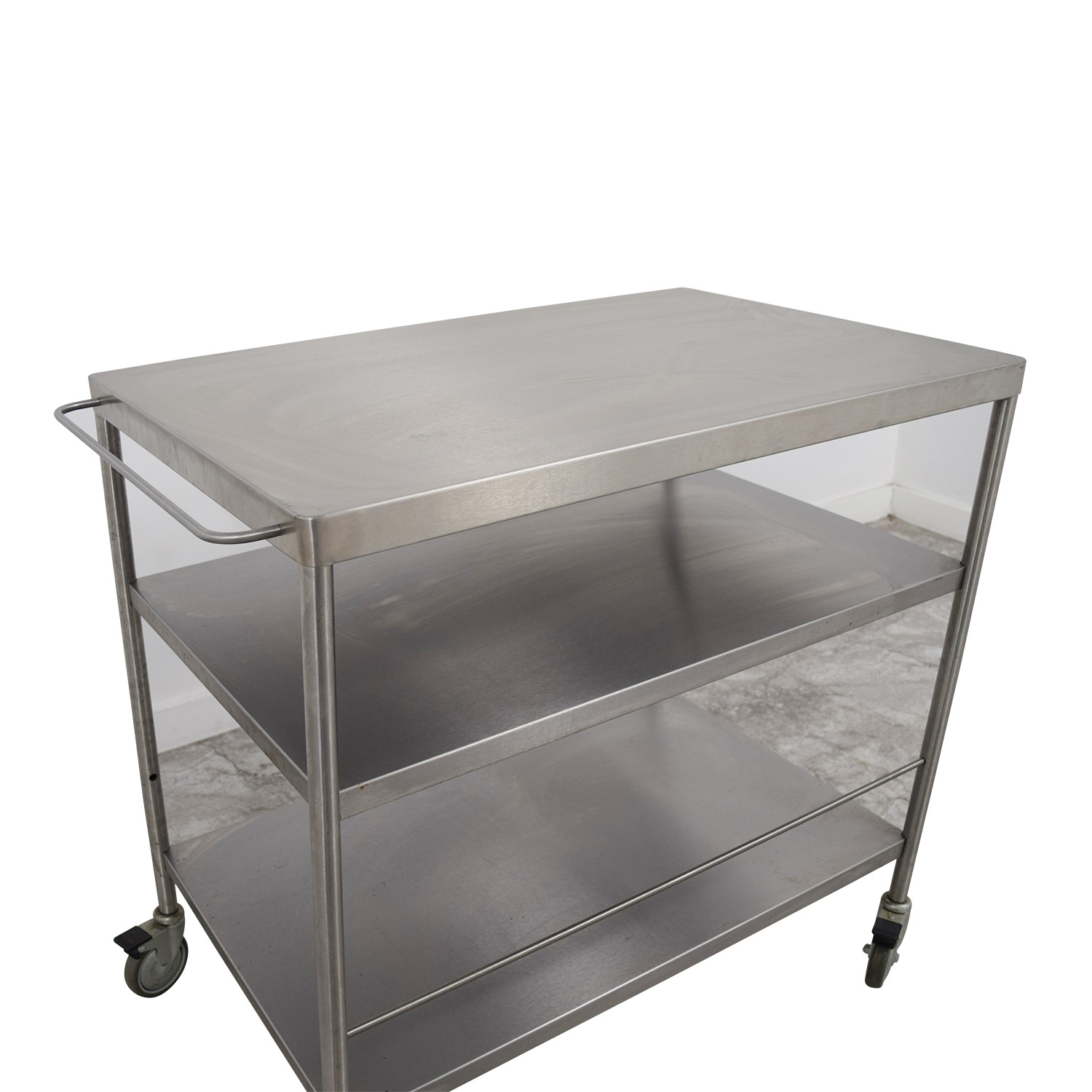 Stainless Steel Utility Cart Stainless Steel