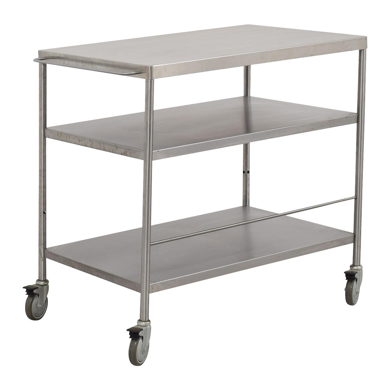 Stainless Steel Utility Cart nj