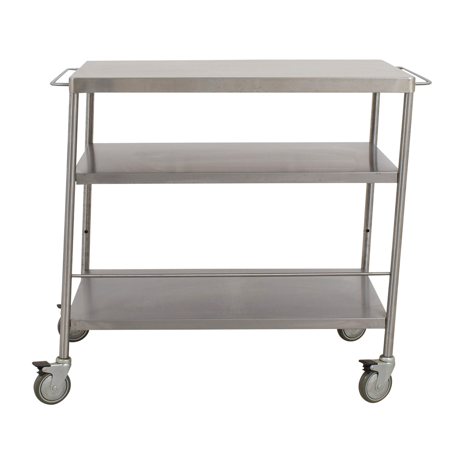 Stainless Steel Utility Cart nyc