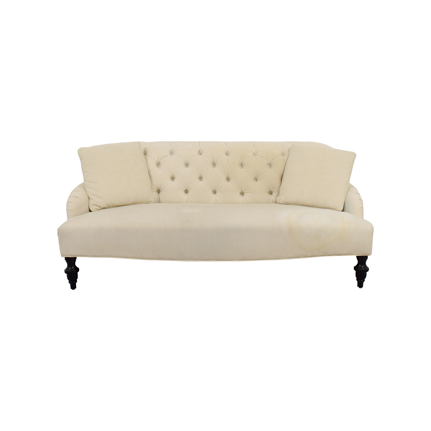 Pottery Barn Pottery Barn Clara Upholstered Apartment Sofa on sale