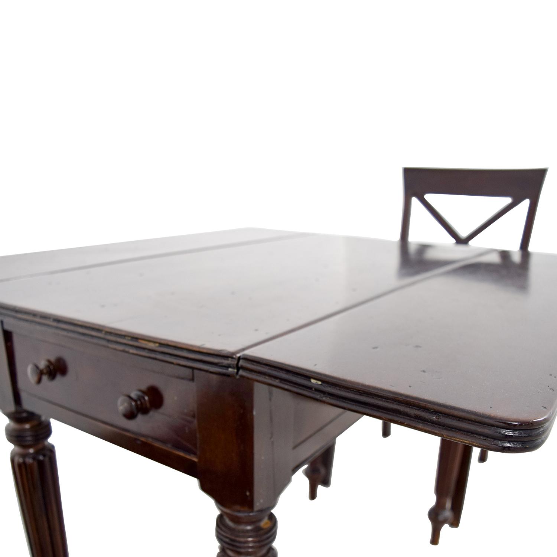 Antique English Pembroke Dining Set price