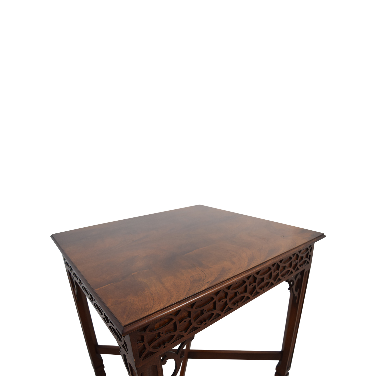 Off antique wood carved side table tables