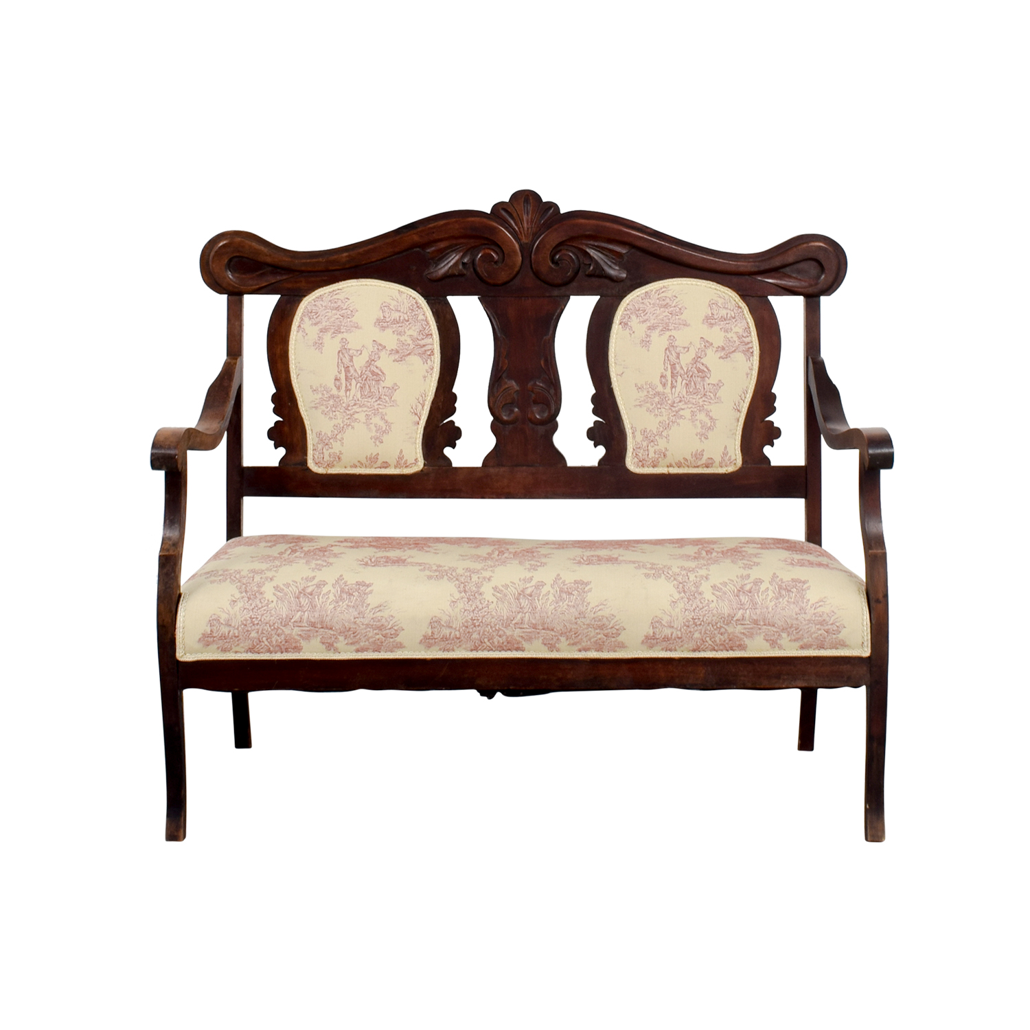 buy Antique French Toile Settee online