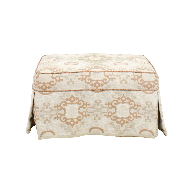 buy Custom Made Upholstered Ottoman online