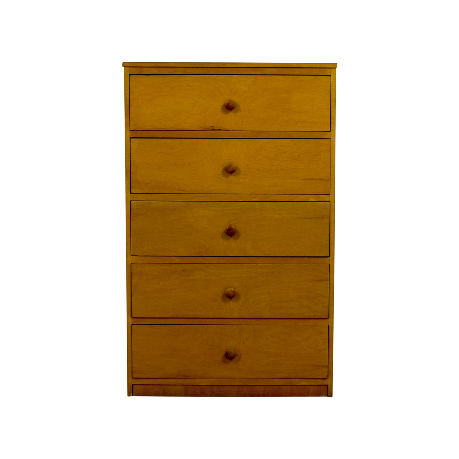 Tall Chest of Five Drawers Storage