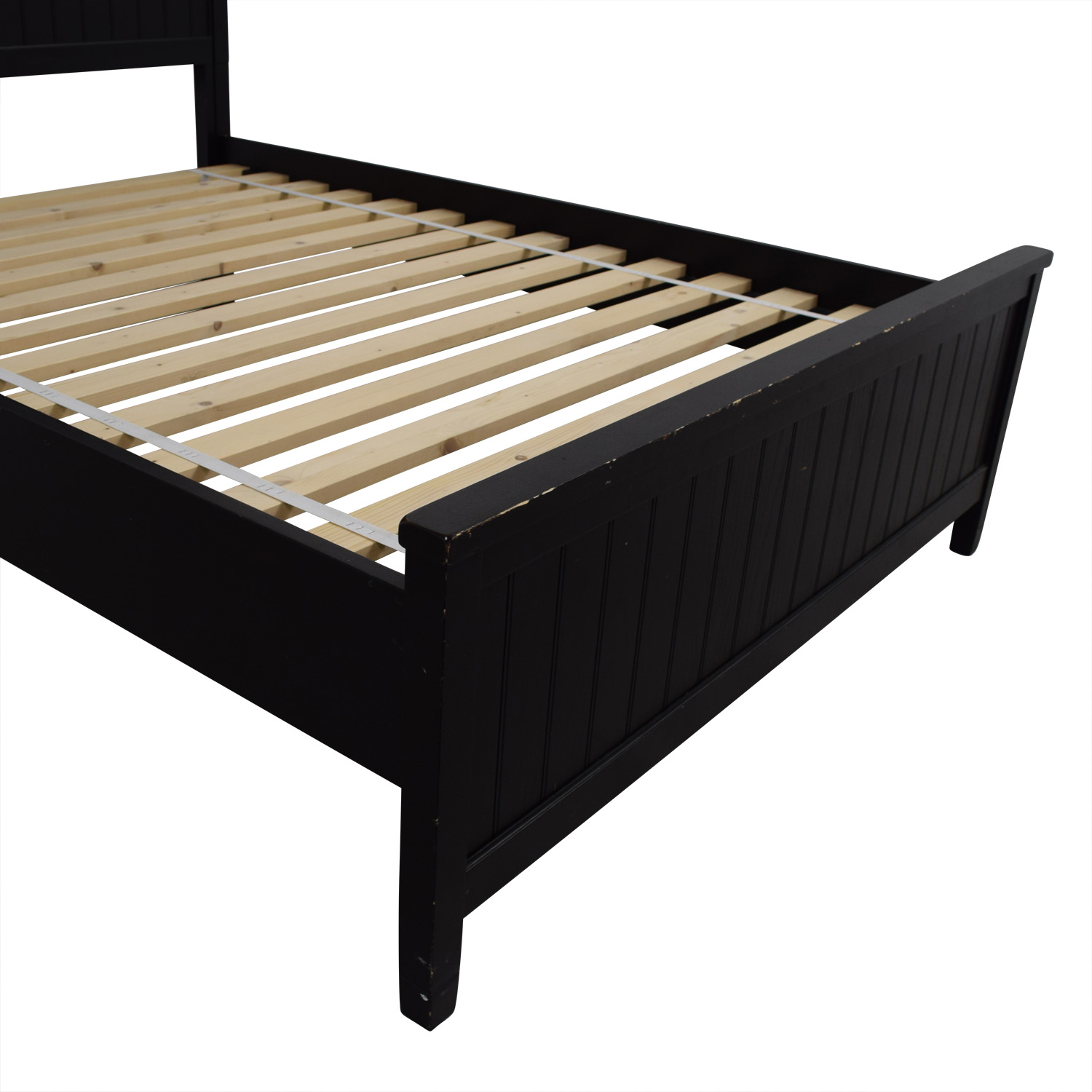 Pottery Barn Pottery Barn Full Black Platform Bed dimensions