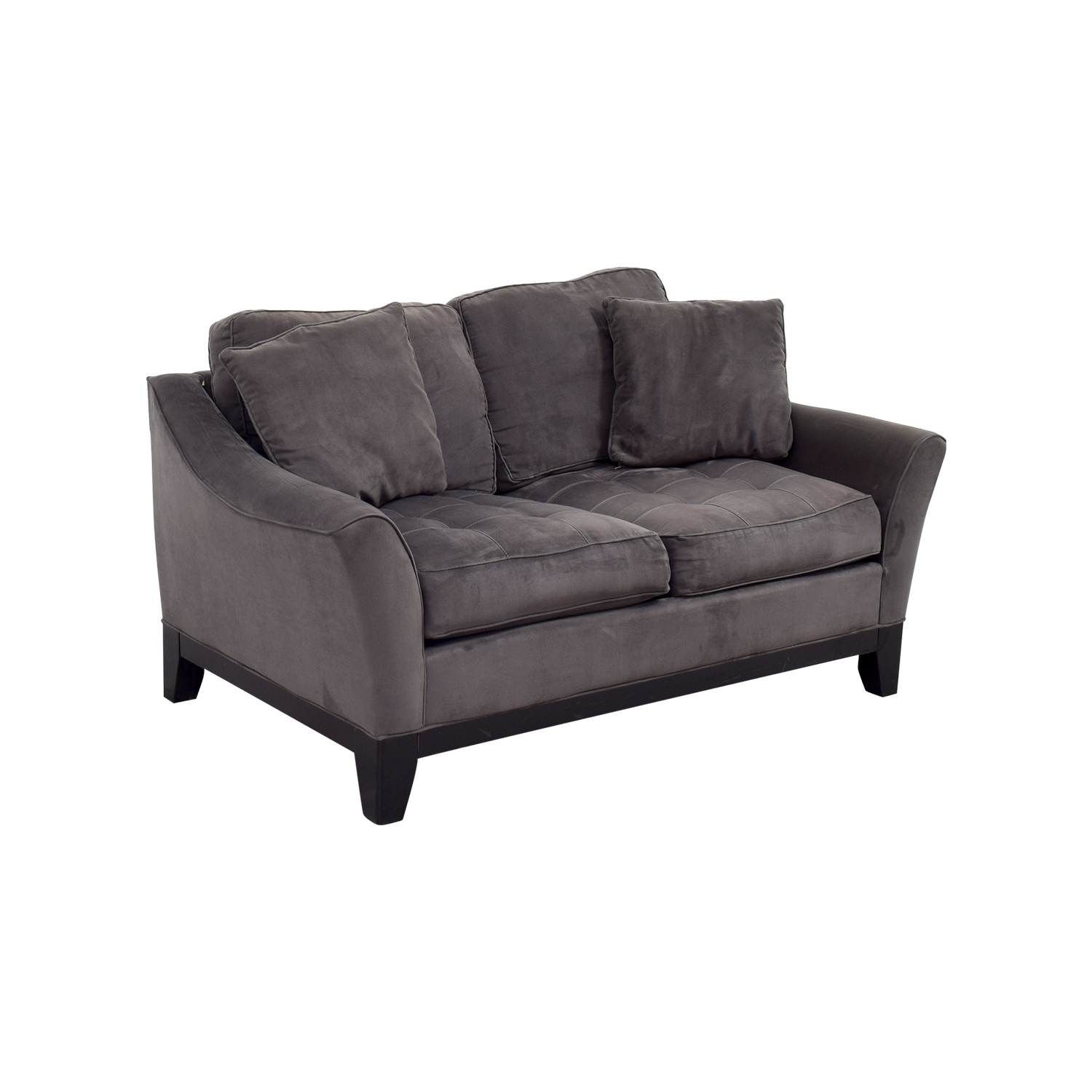 tan microfiber furnish houston products loveseat img
