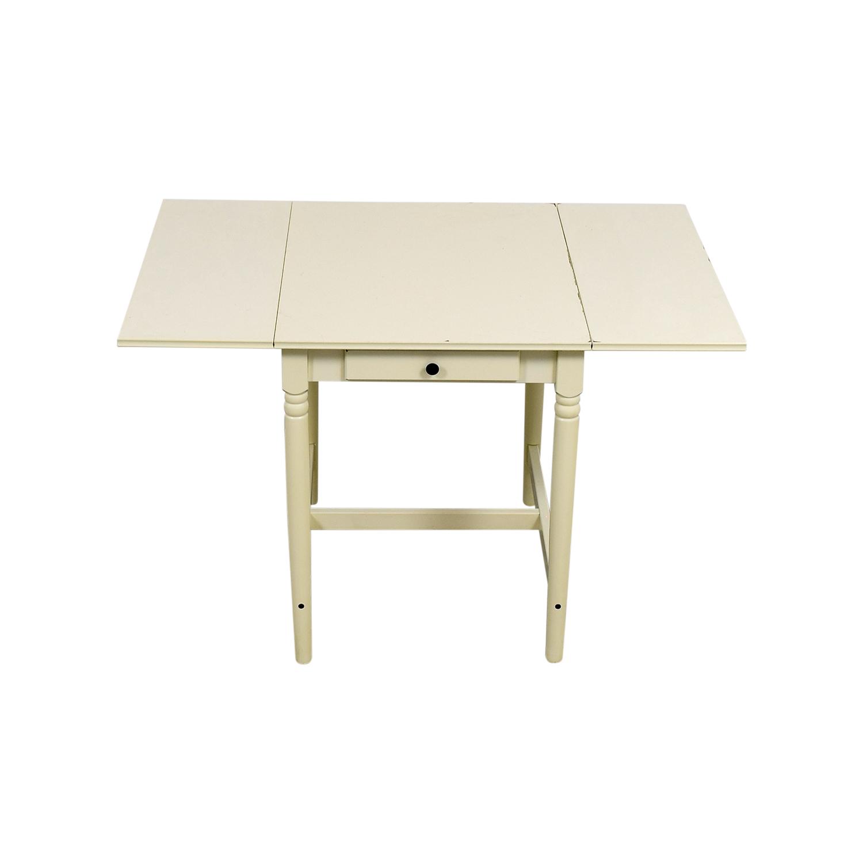 shop IKEA White Extendable Table IKEA