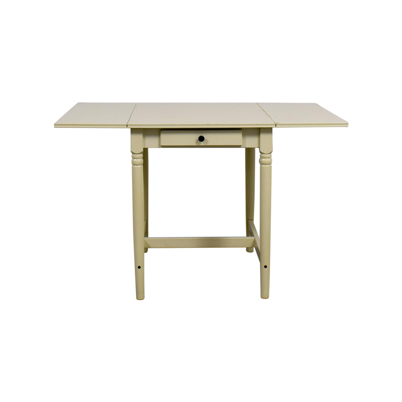 IKEA IKEA White Extendable Table price