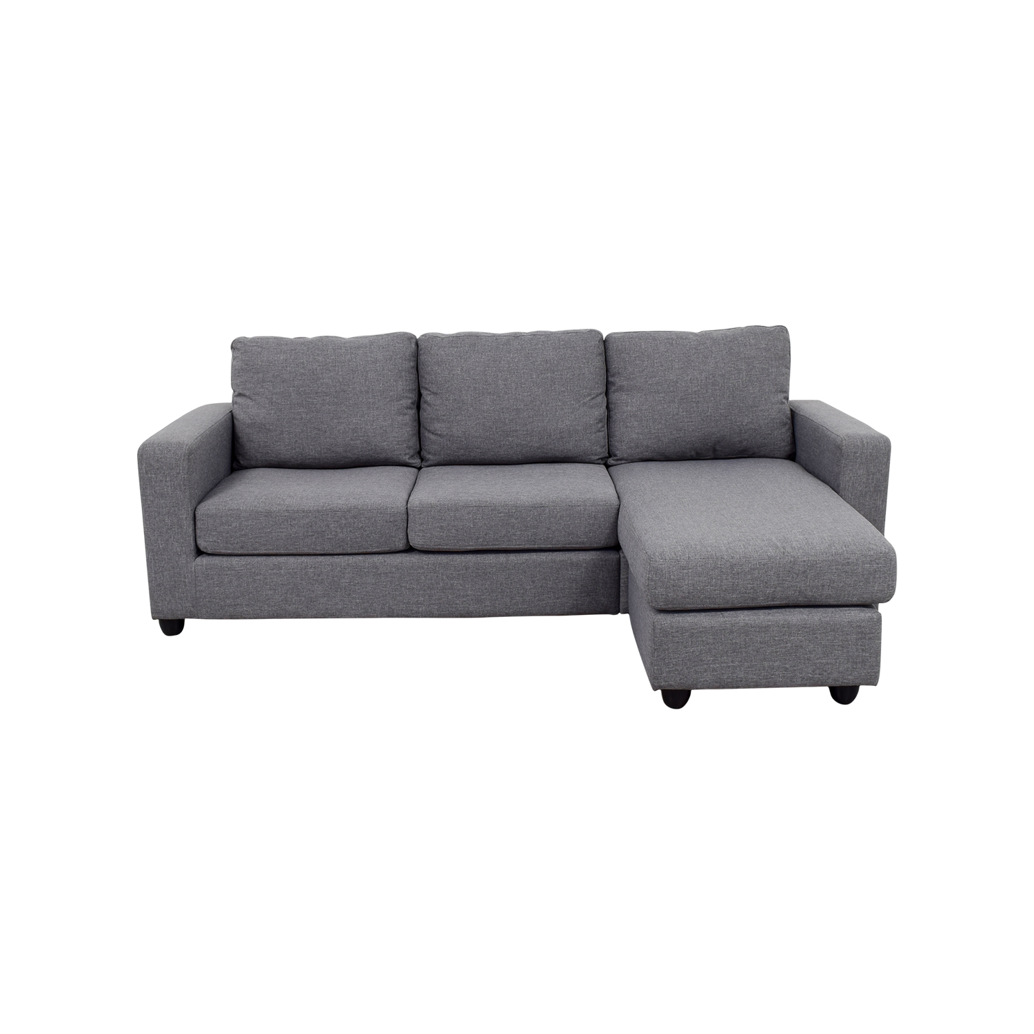 Grey L-Shaped Chaise Couch price