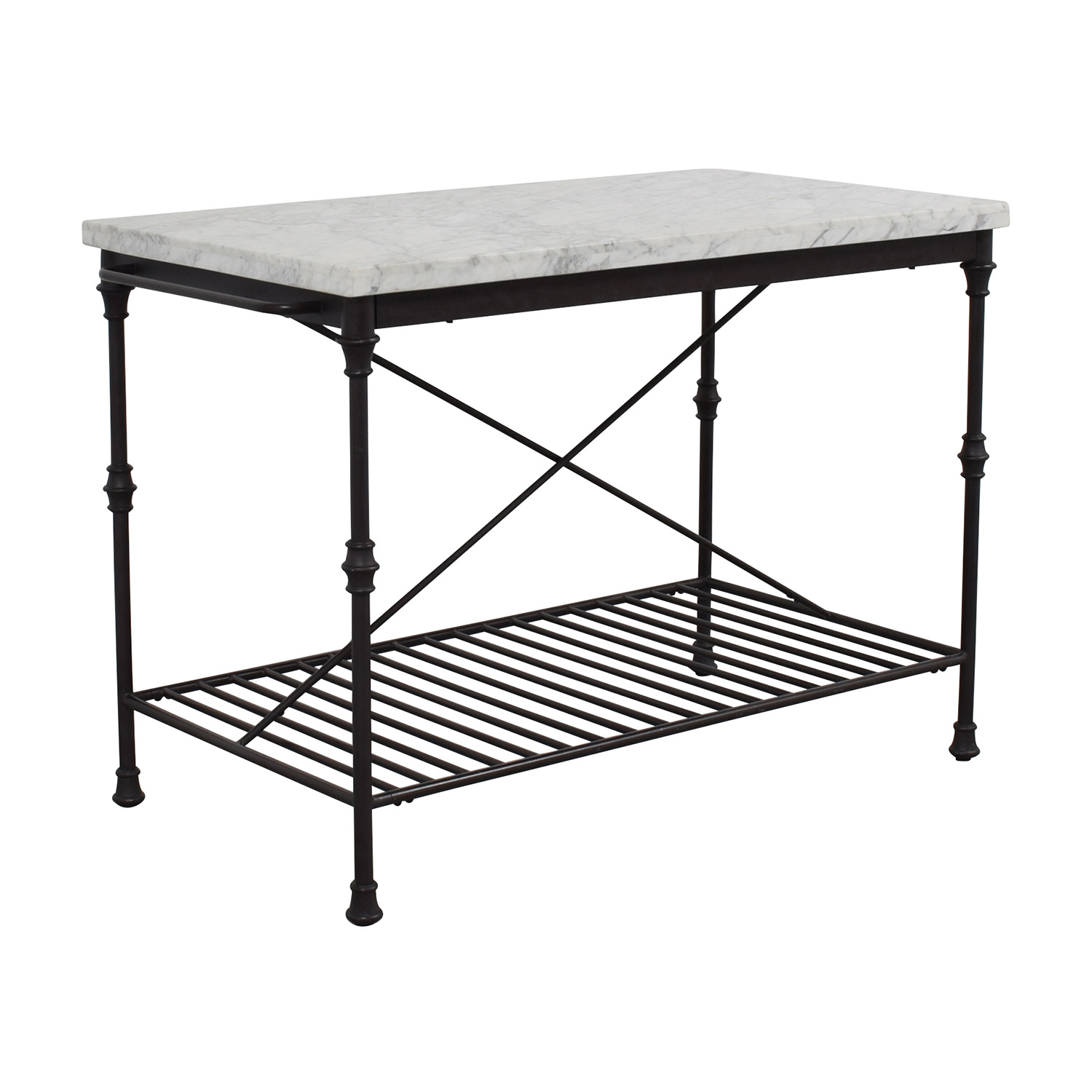 ... Crate U0026 Barrel Crate U0026 Barrel French Kitchen Island Second ...