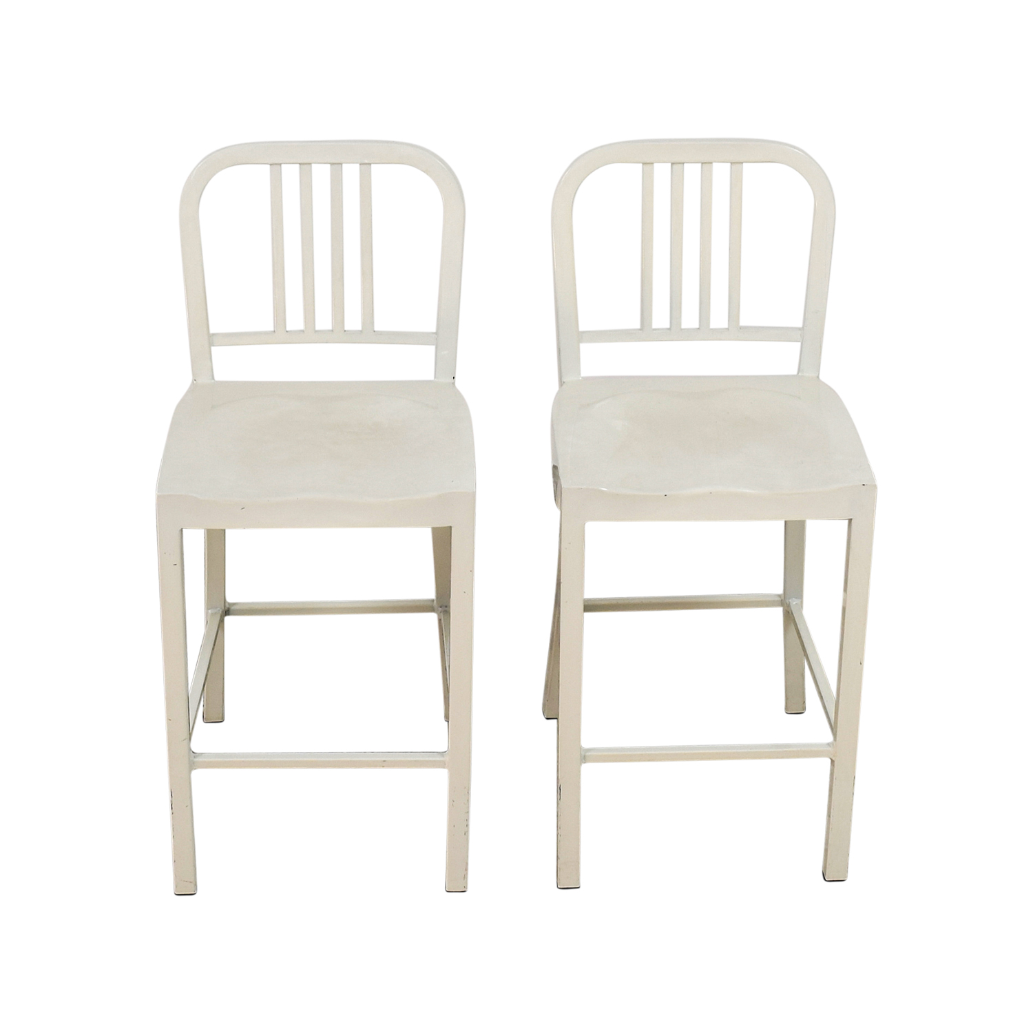 shop White Metal Chairs Dining Chairs