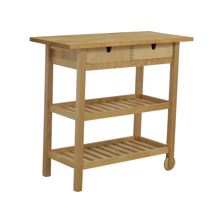 ... IKEA Forhoja Kitchen Cart / Utility Tables ...