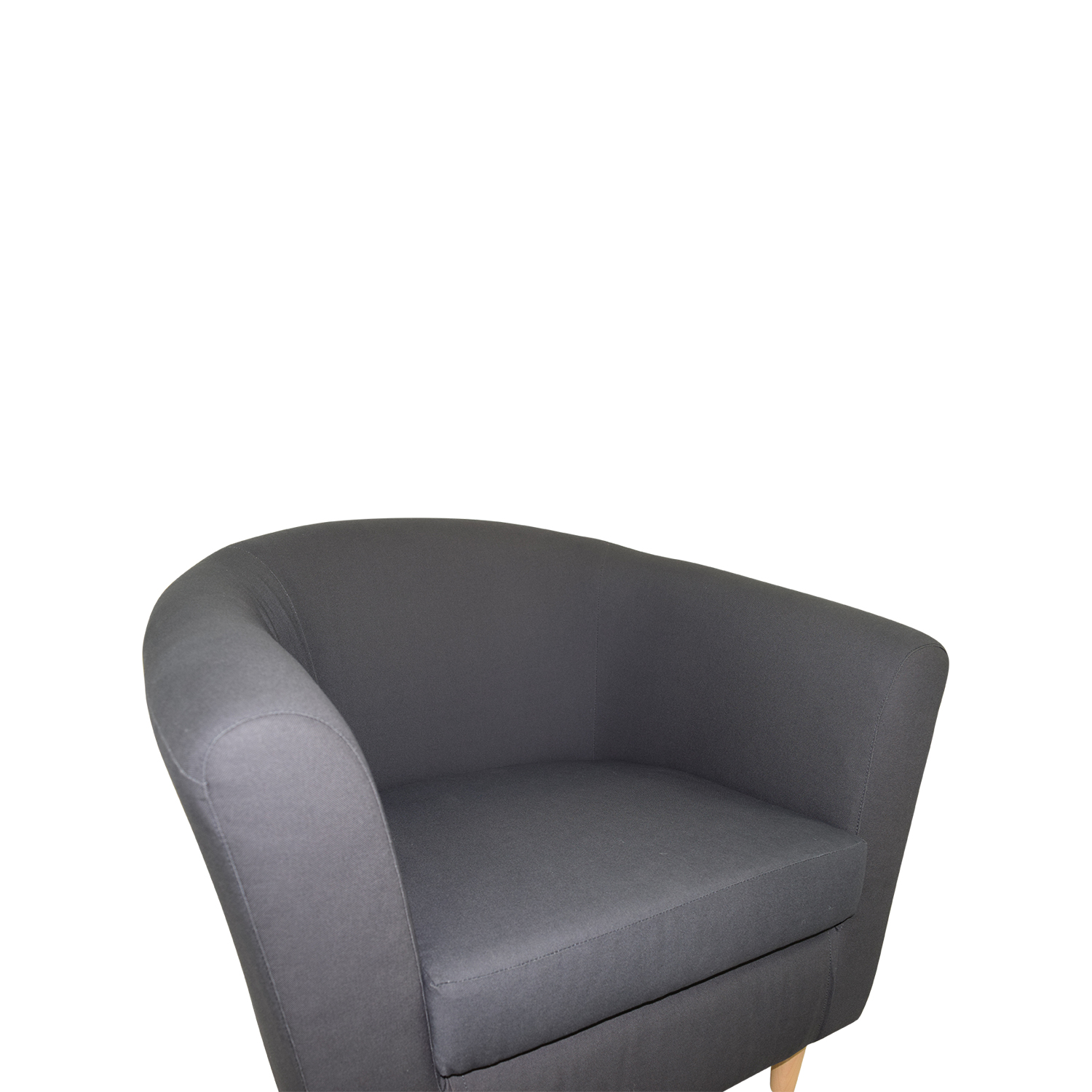 64% OFF - IKEA IKEA Tullsta Blue Armchair / Chairs