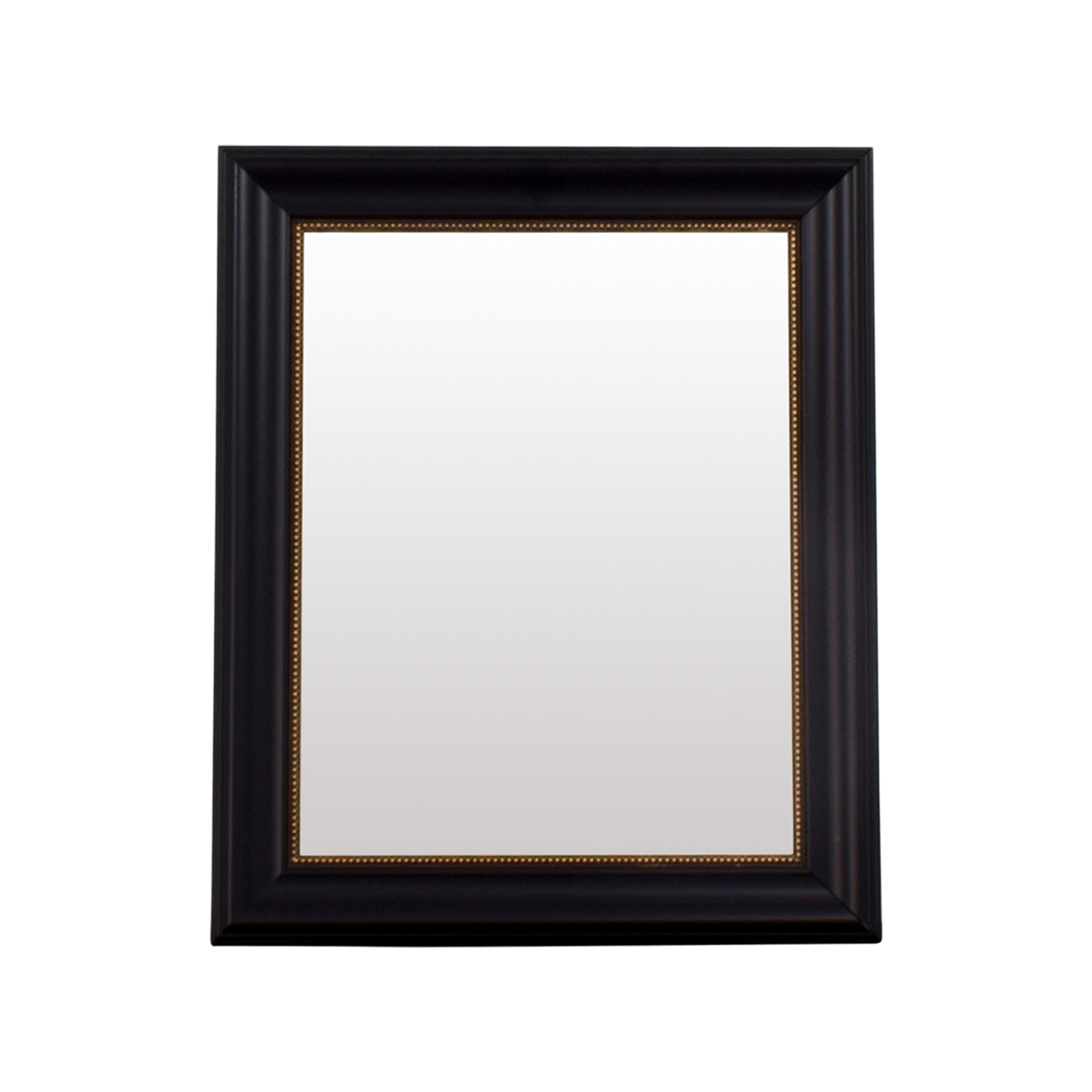 HomeGoods HomeGoods Black and Gold Beveled Mirror dimensions