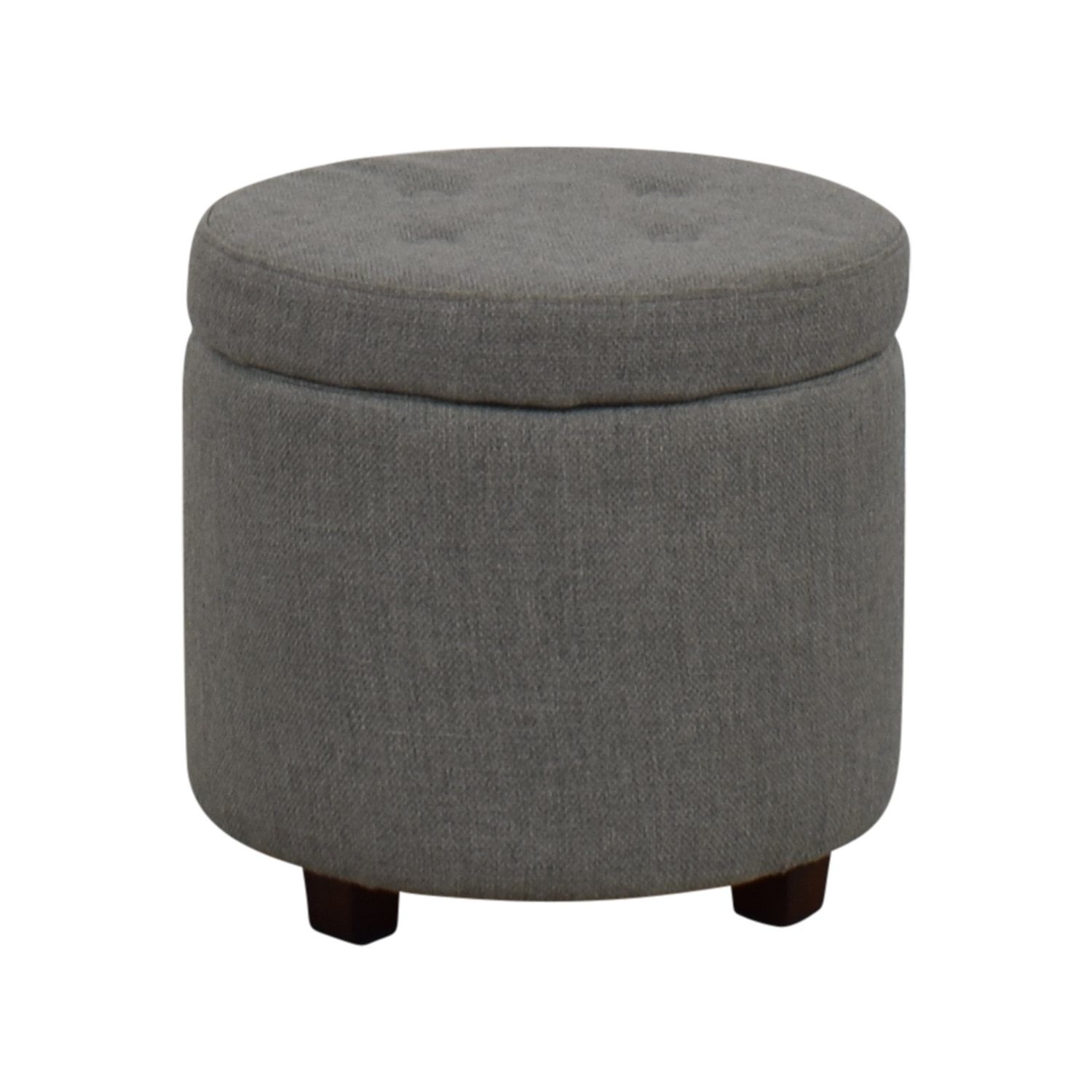 Ordinaire Target Target Grey Tufted Storage Ottoman Storage ...