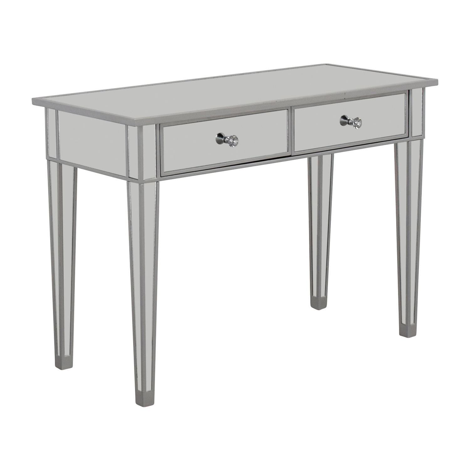 45 off wayfair wayfair two drawer mirrored vanity tables for Wayfair mirrored coffee table