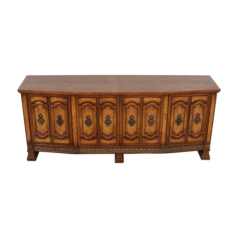 Mediterranean Provincial Dresser with Hidden Drawers on sale